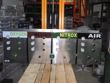 blending panel nitrox and trimix