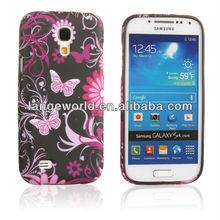 Slim Fit Flexible TPU Flowers Case for Samsung Galaxy s4 Mini i9195