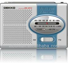 specialized production portable am fm desktop radios
