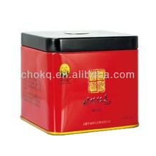 Hot selling stylish pretty rectangular dog food tin box