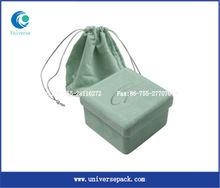 2013 popular custom style velvet jewelry packaging box