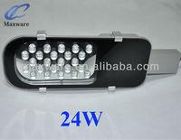 led 24W easy integrated solar street light rising sun