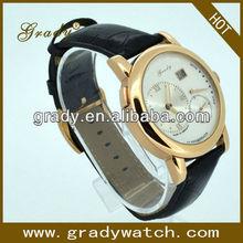 2013 l'arrivée de nouveaux pas cher bracelet en cuir automatique montre swiss made