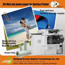 Noritsu RC paper,260gsm Premium RC glossy photo paper suit for Noritsu&Fuji printer minilab