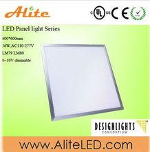 UL DLC CE RoHS 5years warranty 36W 60x60cm 100V-277V high brightness high quality high bright reasonable prices LED Panel Light