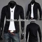 Knitted men's casual suit jacket male Korean men X03