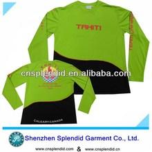 Top quality embossed men tshirt hoody