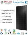 315w mono pv solarpanel alle schwarz