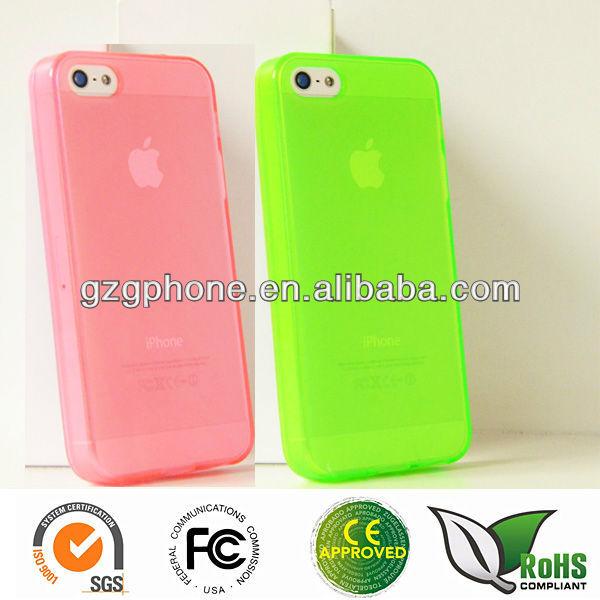 TPU soft case for iphone 5 case