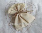 plain washable small cotton drawstring bag
