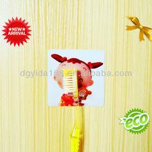 Cepillo de dientes de plástico con succión accesorios de baño