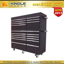 59'' OEM lockable metal roller tool multi drawer cabinet with heavy duty castors