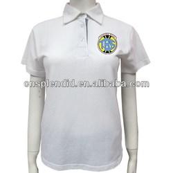 100% Cotton custom oem polo shirts women