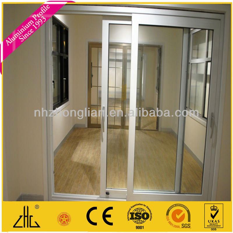 Perfil de aluminio para puerta corrediza de vidrio oem - Puerta corredera de aluminio ...