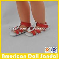 18inch handmade cloth sandal for Dolls