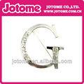Letra G con diamantes de imitación de cristal broche