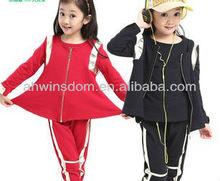 GIRLS SWEET GIRLS SUIT,SWEATER+PANTS THREE-PIECE SETS D91039S