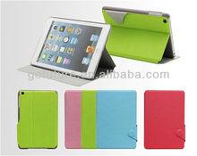 Factory supply , custom for ipad mini leather case,leather case for ipad mini