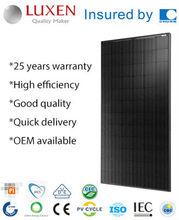 300W mono solar energy ALL BLACK