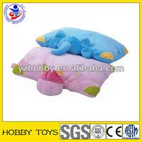 cute soft kid pillow animal shape