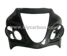 Carbon fibre upper front fairing motorcycle part for Suzuki GSX1300 R Hayabusa