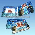 Más caliente 7 pulgadas publicidad tarjeta de video, el módulo de vídeo