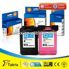 InkJet Cartridge 901 901XLfor HP 901 901XL Inkjet Printer Cartridge , 15 Years INK Cartridge Manufacturer.