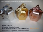 Sell Malaysia Wedding Candies Boxes