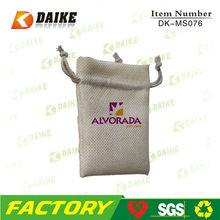 High Quality Reusable Jute 2012 Drawstring Bag DK-MS076