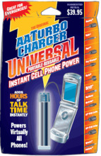 Turbo Starter- Portable Cellphone Charger