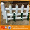 Fashional !!! garden green /white isolation Vinyl fencing/Fence