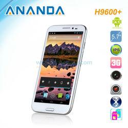 Hero H9600+ Smart Phone MTK6589 Quad Core 5.7 Inch HD Screen android phone