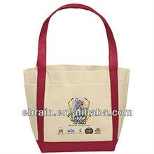 Saratoga Full Color Boat Tote bag,mixed colored tote bag