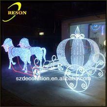 RS-carriage05 lighting christmas gift for bike decoration