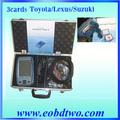 Beste 2013 quality+fast lieferung toyota denso intelligent tester 2 ii( eine tragbare) 3cards mit box