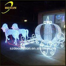 RS-carriage05 lighting fashionable metal christmas craft