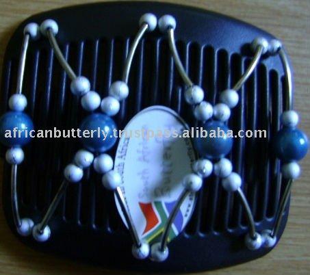 AFRICAN BUTTERFLY R HAIR CLIP WEDDING HAIR CLIPBLING HAIR CLIP