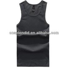 Mesh Fabric imprint boys sleeveless vest