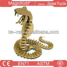 3 D Paper snake
