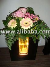 light flower vase