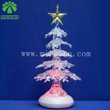 USB RGB flashing small 2013 gift christmas tree with star on top