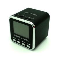 Music Angel JH-MD08 Portable mini speaker LED W/FM TF USB MP3