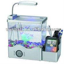2013 Hot mini USB Fish Tank with beautiful LED light