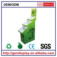 GEN-TD010 golden supplier OEM paper display stand