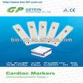 strep rápida para las pruebas de marcadores cardíacos