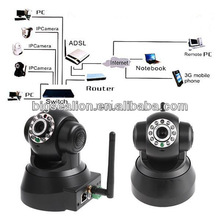 Rotating Wireless IP Camera Outdoor Dome