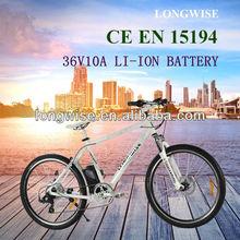 250w Elektro-Fahrrad motor 36V 10A dirt bike electric mountain bicycle CE approval
