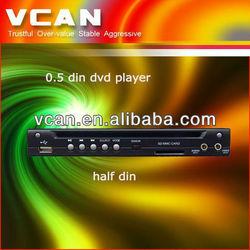 DVD-600 car Half-Din dvd player for bmw e60, AVI/VCD/MP3/CD Player Built-in SD/USB Port
