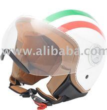 italian open face helmets