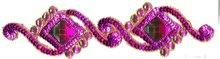 Saree Borders, Handmade Lace, Beaded Lace 45
